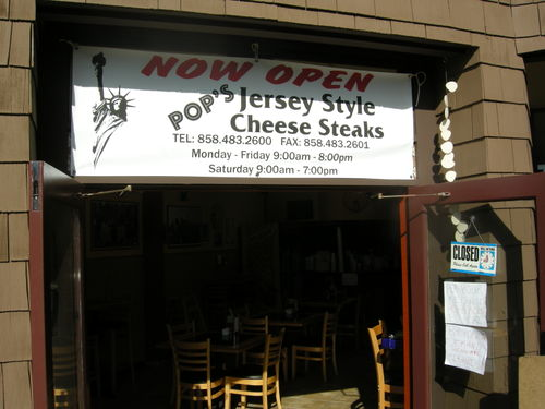 Pop's Jersey Style Cheese Steaks 010