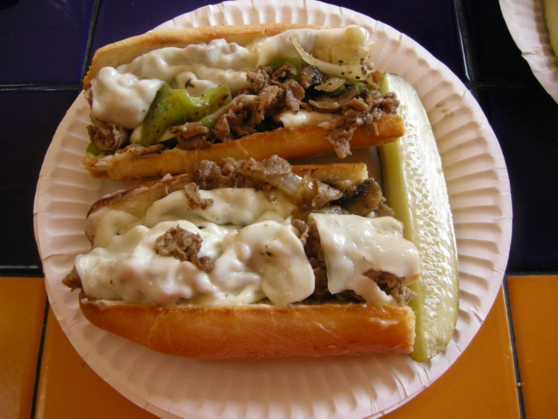 Pop's Jersey Style Cheese Steaks 017